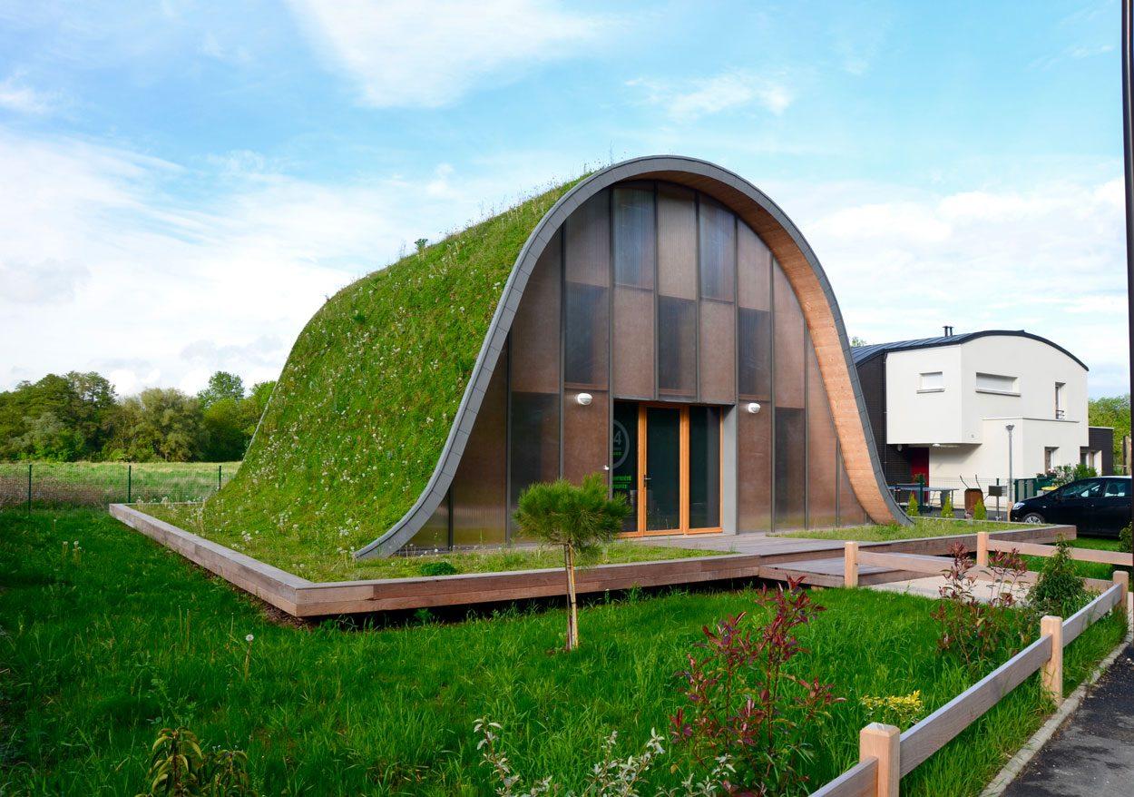 Une prairie, un jardin sur le toit ? Pourquoi pas…